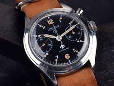 Lemania British RAF Chronograph