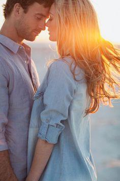 Engagement shoot by Teneil Kable: Jenna & Tyson / Wedding Style Inspiration / LANE