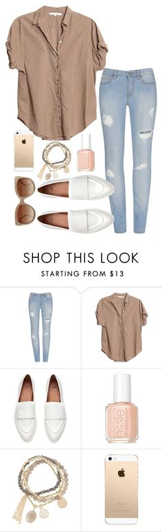 """Relaxed"" by jilld727 ❤ liked on Polyvore featuring Xirena, Essie, DesignSix and STELLA McCARTNEY"