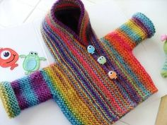free knitting pattern by Gloria Segura