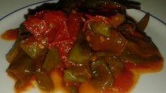 peperoncini verdi con pomodorini