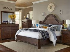 Bed; The Trisha Yearwood Home Collection - Nashville Lifestyles