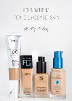 # for . Basics for oily skin / combination skin - Skin Toner, Oily Skin, Oily Face, Combination Skin Care, Best Foundation For Combination Skin, Cream For Dry Skin, Skin Cream, Skin Care Remedies, Drugstore Makeup