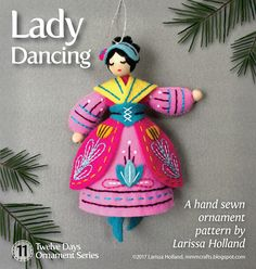 mmmcrafts - Lady Dancing ornament pattern now available