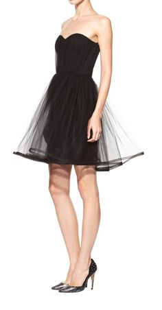 Tulle organza dress