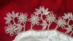 Creative Embroidery, Sewing Art, Needle Lace, Knots, Elsa, Christmas Tree, Holiday Decor, Crafts, Places