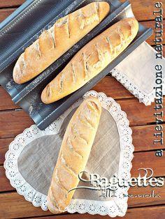 I biscotti della zia: Baguettes alla semola con lievito madre