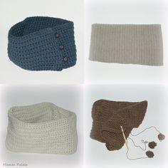 snoods au crochet / Crochet cowls
