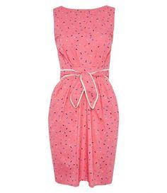 Trollied Dolly Tie waist dress
