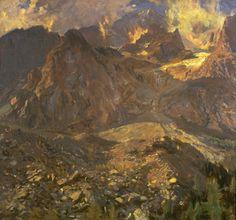 John Singer Sargent - Val d'Aosta