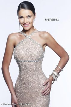 Sherri Hill 11136 , available in raeLynns.com Price is only $850!!! #womensfashion #highneckline