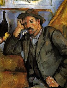 Paul Cézanne: Man with a Pipe, 1895
