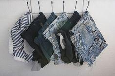 denim shorts!