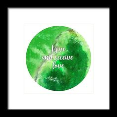 Heart Chakra - Unconditional love, Acceptance, Compassion, Intuitiveness Framed Prints, Canvas Prints, Cornelius, Impressionist Paintings, Heart Chakra, Acceptance, Compassion, Tapestry, Hanging Tapestry