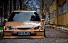 #Honda #Civic_Ek #Slammed