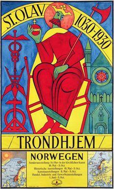 Bjarne Reidar, Trondheim St. Olav 1030 - 1930, 1929
