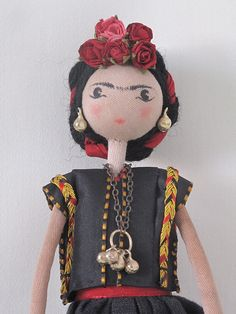 selvedge dolls - 39 by Sarah Strachan, via Flickr