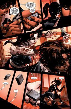 Suicide Squad Harley Quinn versus Amanda Waller