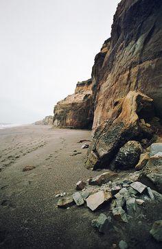 Nice beach spot on a melancholy day.