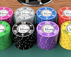 The Odium Club - A Designer Ceramic Poker Chip Line for less than $1/chip, by AuroraPokerGear