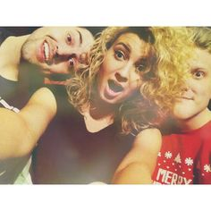 Tori Kelly, Scott Hoying, and Mitch Grassi <3 I watched this youtube video it was soooooo funny and they all have amazing voices