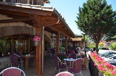 ¡¡¡Hoy el Blanco se toma en la Terraza y el Cocido Lebaniego parece que también!!!   #sunrules #potes #liebana