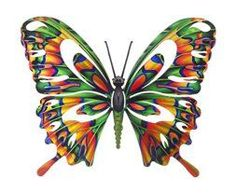 I love outdoor metal wall art.  It is an amazing way to decorate your  backyard or outdoor space.  I love the  look of metal outdoor art especially when you have pretty metal flowers,  butterflies, suns, moons and all kinds of trendy shapes, colors and  designs.  #outdoordecor #decor      Next Innovations WA3DSBFLYMULIT Butterfly Refraxions 3D Wall Art, Small, Multi