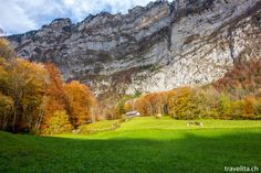 kloentalersee-1 Autumn Inspiration, Travel Inspiration, Soundtrack, Never Stop Exploring, Dawn, Golf Courses, Around The Worlds, Explore, Switzerland