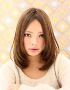 ヘアスタイル ミディアム ストレート - Yahoo!検索(画像)