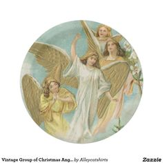 Vintage Group of Christmas Angels
