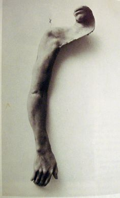 BRUCE NAUMAN - From Mouth To Hand  Think about the potential symbolism....or not.  K.W.