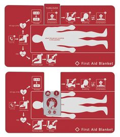 Clever First Aid Blanket That Helps To Save Lives