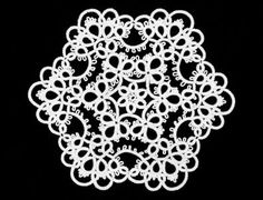 Tatting - made with a shuttle