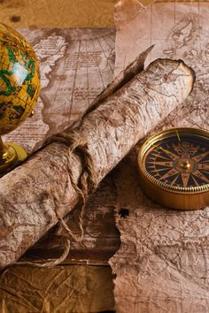 HD wallpaper: yellow desk globe with map, artwork, globes, compass, scrolls Charles Vane, Map Compass, Pirate Compass, Map Globe, Desk Globe, Tumblr Art, Treasure Maps, Buried Treasure, Pirate Treasure