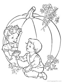 Autum Coloring Pages 26