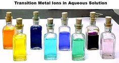 Colours of Ions In Aqueous Solutions