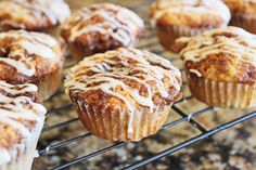 Cinnamon Roll Muffins | Jamie Cooks It Up - Family Favorite Food and Recipes