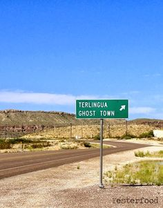 The Ghost Town in Terlingua, Texas