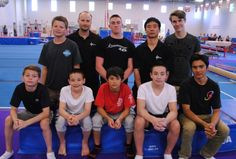 Nine athletes from Delta Gymnastics competitive men's program leave Saturday for China where they will have an opportunity to experience how one of the sport's world powers trains.
