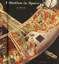 "Dreams of Space - Books and Ephemera: Collier's March 22, 1952 ""Man Will Conquer Space Soon"""
