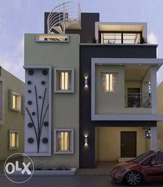 I want plots in othakadai to karupurani road per - Madurai - New Projects - Ottakkadai House Outside Design, House Gate Design, Bungalow House Design, Narrow House Designs, Modern Small House Design, Modern Bungalow House, Small House Exteriors, Front Wall Design, House Layout Plans