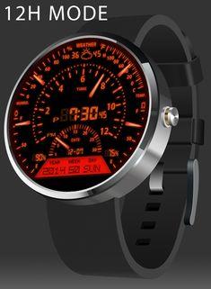 V06 WatchFace for Moto 360- スクリーンショット