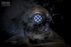 Diver Helmet Jaco, Space Crafts, Empire, Helmet, Photography, Spaceships, Fotografie, Photograph, Hockey Helmet