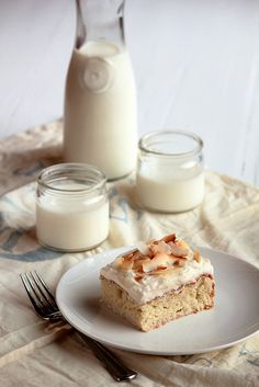 milk coconut cake