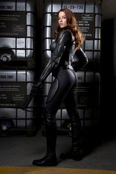 Scarlett in GI JOE: The Rise of Cobra