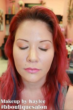Another #makeup #application from our makeup class this past monday #bboutiquesalon - Make up by Kaylee