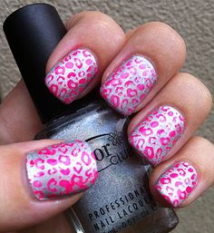 Leopard Print Cardi Inspired Nails! (Clor Club Worth The Risque with China Glaze Pool Party