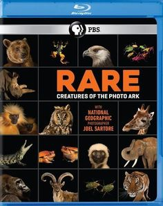 Rare: Creatures of the Photo Ark [Blu-ray]