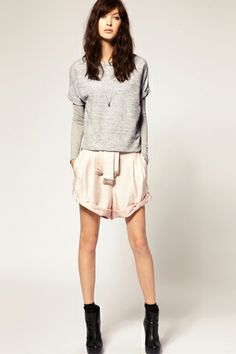 Spring 2012, Grey and Blush