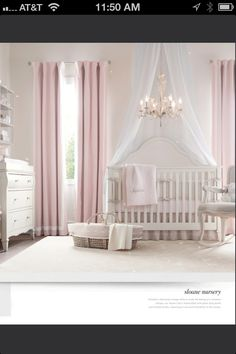 Restoration Hardware girls nursery- love the shelves above changing table